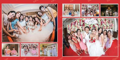 Memories P002 in wedding theme