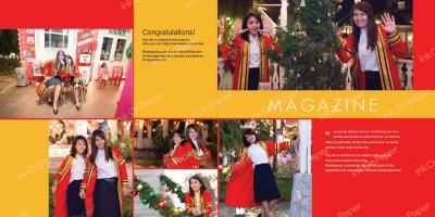 Magazine P003 in graduate theme
