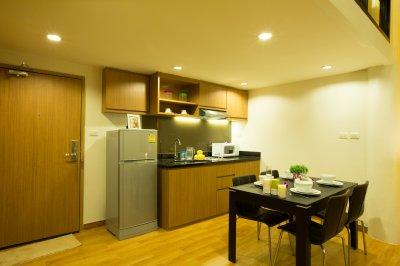 Sriracha Orchid Duplex One-Bedroom Suite