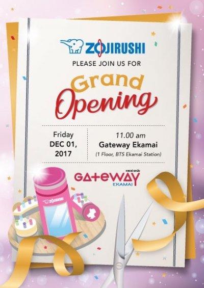 Grand Opening ZOJIRUSHI @GATEWAY