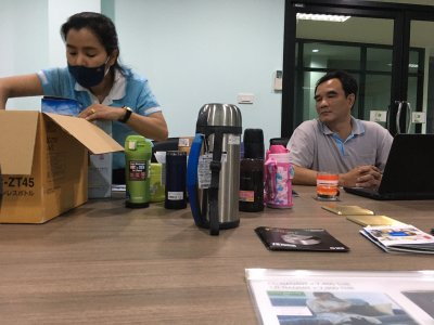 การประชุมรายละเอียดกระติก Zojirushi
