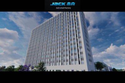 แบบแปลน 3D  โรงงานใหม่ JACK