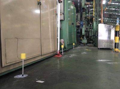 งานซัพพอร์ทพื้นโรงงานอุตสาหกรรม