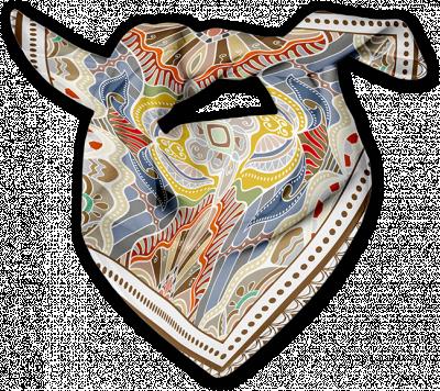 Scarf by winnaar garment