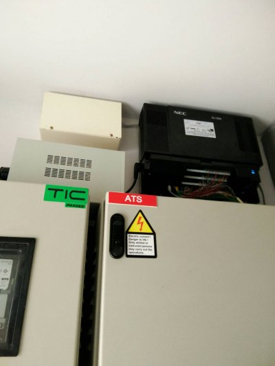 ติดตั้งระบบโทรศัพท์ตู้สาขา PABX NEC รุ่น SL1000 ให้โรงแรม Kensington