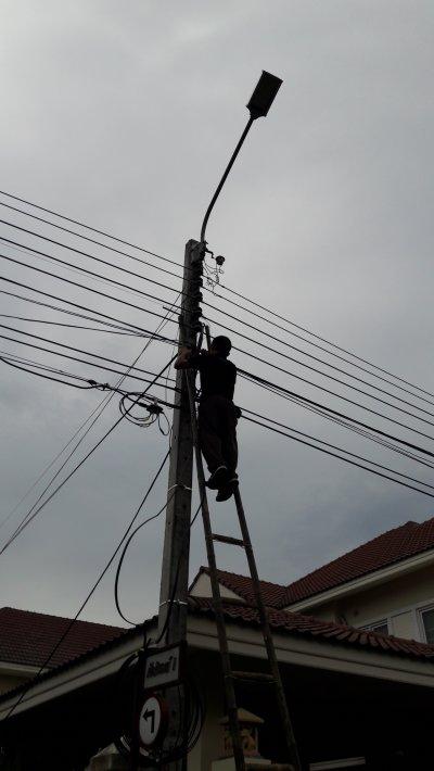 ติดตั้งกล้อง CCTV 22 ตัวในหมู่บ้าน