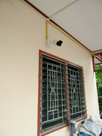 งานติดตั้งกล้องวงจรปิด CCTV update 11/7/17