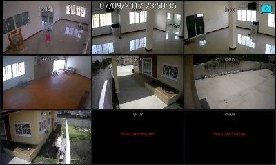 ผลงานติดตั้งกล้องวงจรปิด CCTV update 12/9/17