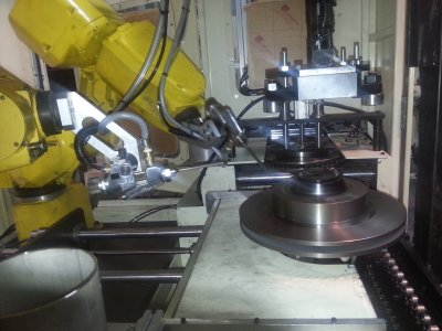 Disc Brake Painting Robot System