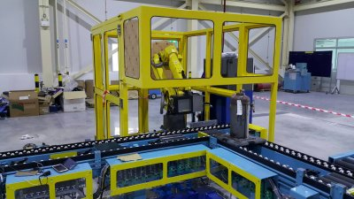 Laser Marking Robot System