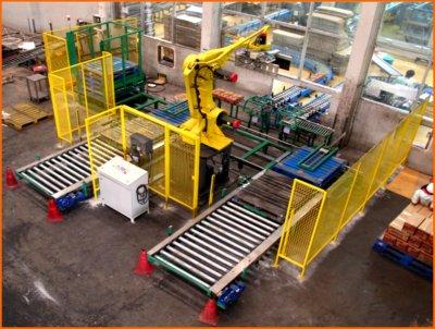Case Palletizing Robot System