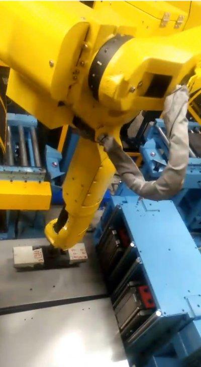Robot Shell Roll