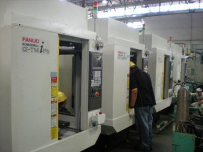 CNC Machine Tending Robot System
