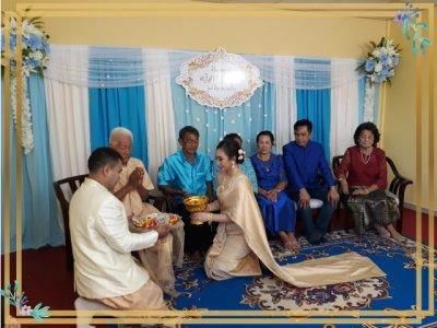 งานแต่งงานพิธีเช้า