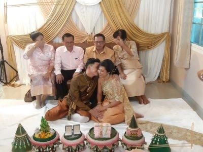 งานแต่งงาน คุณแก้ว บางกรวย นนทบุรี