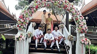 งานวันที่ 14 ก.ค.61 งานแต่งธีมสมพูเลเย่อ พระเช้า งานหนูดี
