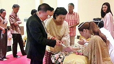 งานวันที่ 4 ส.ค. 61  งานแต่งะีมทองแดง พระเช้างานคุณหญิง