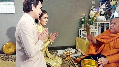 งานวันที่ 19 ส.ค. 61 งานแต่งธีมส้มพาสเทล  พระเช้างานคุณธิดารัตน์