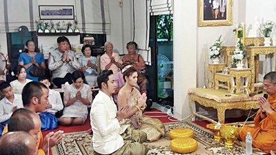 งานวันที่ 25 ส.ค. 61 งานแต่งธีมครีมขาวทอง พระเช้างานคุณนัส