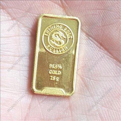 ทองแท่ง2สลึง ทอง96.5%