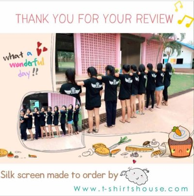 Review from my customer ; Thank you for your support
