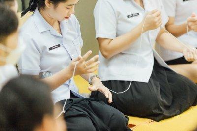 กิจกรรม อบรมคุณธรรมจริยธรรม นักเรียนรุ่น ที่ 37