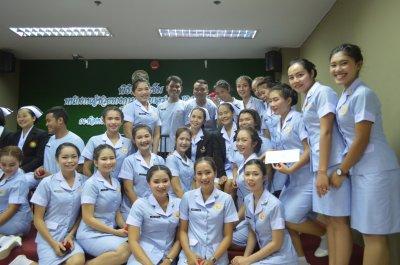 พิธีรับเข็มนักเรียนรุ่น 12 , 13
