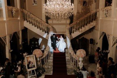 งานแต่งงานจัดเลี้ยงกลางคืน