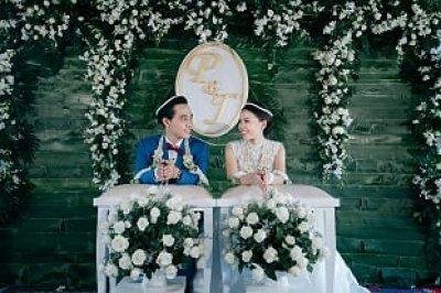 รวมงานแต่งงานพิธีเช้าเรือนไทย