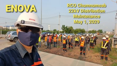22kV Distribution Mainance RCO Chumnum SUB
