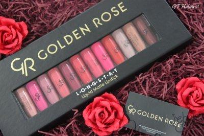 GoldenRose Longstay Liquid Matte Lipstick
