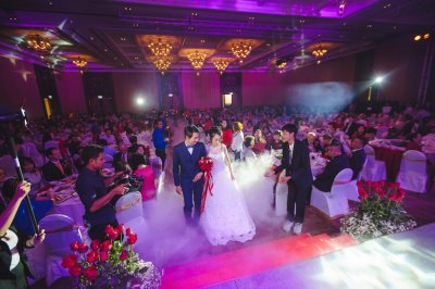 Wedding Red&Blue