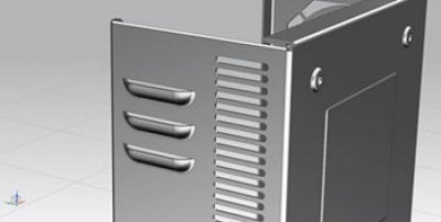 How to use Louver feature in NX11.0 Sheet Metal