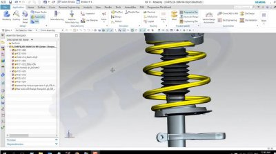 How to create spring with multi Pitch & diameter values by Siemens NX11.0
