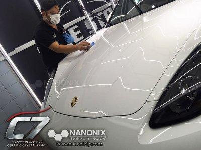 เคลือบแก้ว C7 NANONIX รถ PORSCHE