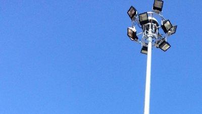 ติดตั้งเสาไฟ High Mast