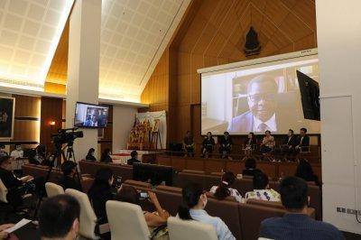 """5 กันยายน 2563 : การสัมมนาด้านภาพยนตร์ในหัวข้อ """"ทิศทางอุตสาหกรรมภาพยนตร์และวีดิทัศน์ไทยภายหลัง ณ ศูนย์ประชุม ชั้น 8 อาคารวัฒนธรรมวิศิษฐ์ กระทรวงวัฒนธรรม"""