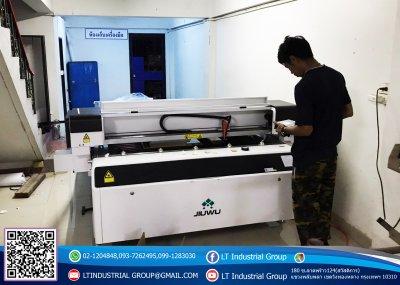 ส่งมอบเครื่อง Laser CO2 ขนาดพื้นที่ 1.3x2.5 M. พิกัด จังหวัดราชบุรี