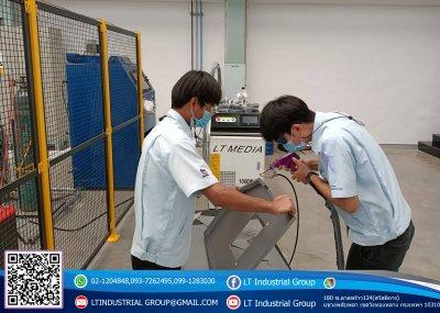 ส่งมอบเครื่อง welding Fiber Laser 100w จำนวน 1 เครื่อง พิกัด บริษัท เอส เอ็น ซี คริเอติวิตี้ แอนโทโลจี จำกัด