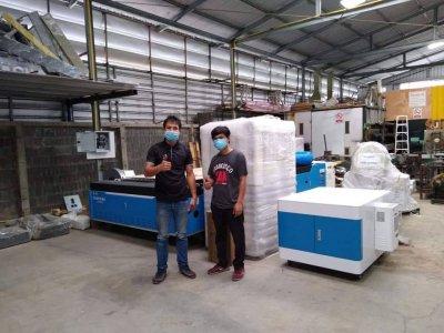 ส่งมอบ fiber laser sf3015m 1.5kw พิกัด อุดมสุข