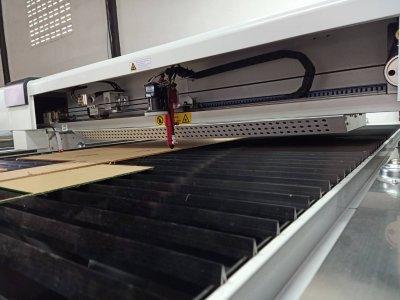 ส่งมอบ laser co2 1325 /150w พิกัด ปทุมธานี