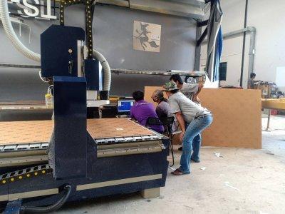 ส่งมอบ CNC ROUTER MACHINE 3.5 KW พิกัด สมุทรปราการ