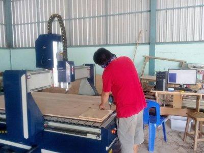ส่งมอบ CNC ROUTER MACHINE 3.5 KW พิกัด นนทบุรี