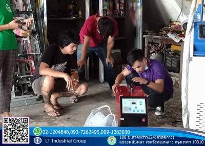 ส่งมอบเครื่อง welding Fiber Laser 1000w  พิกัด จังหวัดชลบุรี