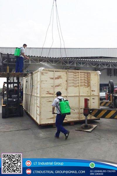 ส่งมอบและติดตั้งเครื่อง FIBER LASER CUTTING รุ่น SF3015H/2000W พิกัด อ.เมือง จ.สิงห์บุรี
