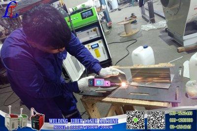 ส่งมอบเครื่อง welding Fiber Laser100w จำนวน 2 เครื่อง พิกัด บางพลีน้อย สมุทรปราการ