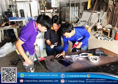ส่งมอบเครื่อง welding Fiber Laser 100w  ห้างหุ้นส่วนจำกัด บีเจ ดีไซน์ อาร์ต พิกัด กทม.