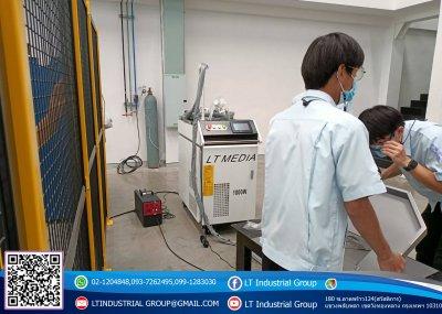 ส่งมอบเครื่อง welding Fiber Laser 1000w จำนวน 1 เครื่อง พิกัด บริษัท เอส เอ็น ซี คริเอติวิตี้ แอนโทโลจี จำกัด