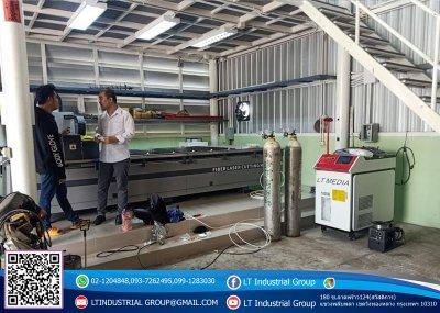 ส่งมอบเครื่อง welding Fiber Laser 1000w  พิกัด จังหวัดนนทบุรี