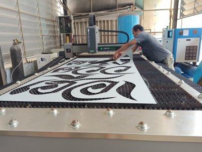 ส่งมอบ fiber laser  dema x7 1kw พิกัด กรุงเทพมหานคร